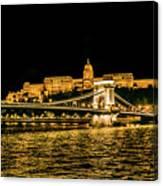 Lights Of Budapest Canvas Print