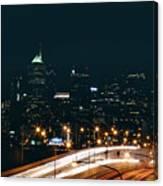 Lights Of Philadelphia Canvas Print