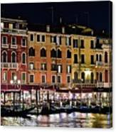 Lights Of Venice Canvas Print