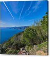 Liguria Paradise Gulf Panorama Canvas Print
