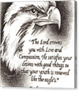 Like The Eagle Canvas Print