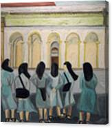 Lil Nuns Of Florence 2004 Canvas Print
