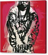 Lil Wayne Pop Stylised Art Sketch Poster Canvas Print