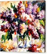 Lilac - Morning Mood Canvas Print