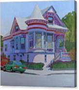 Lilac House, Alameda Canvas Print