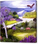 Lilac Valley Canvas Print