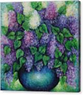 Lilacs No 1. Canvas Print