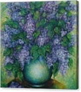 Lilacs No 2. Canvas Print