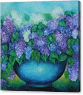 Lilacs No 3. Canvas Print