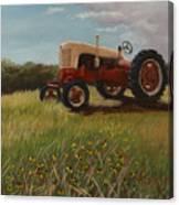 Lillians Tractor Canvas Print