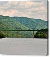 Lilly Bridge - Hinton West Virginia Canvas Print