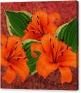 Lily 3 Canvas Print