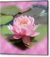 Lily Hearted Canvas Print