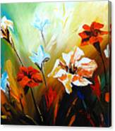 Lily In Bloom Canvas Print