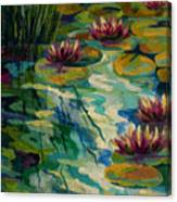 Lily Pond II Canvas Print
