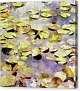 Lilypads W C Canvas Print