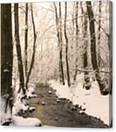 Limentra In Winter Canvas Print