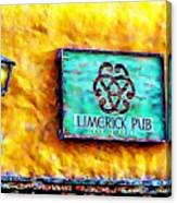 Limerick Pub Canvas Print