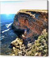 Limestone Cliff Canvas Print