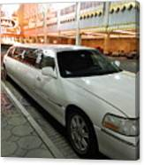 Limo Waiting Canvas Print