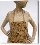Lina the Ceramist Canvas Print