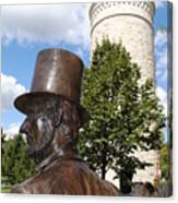 Lincoln At The Tower Canvas Print