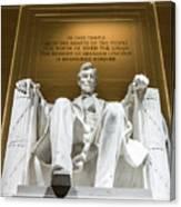 Lincoln Memorial 2 Canvas Print
