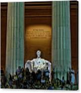 Lincoln Memorial Canvas Print