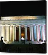 Lincoln Memorial - From Reflecting Pool Canvas Print