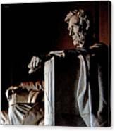 Lincoln Memorial In Washington D.c. Canvas Print