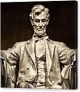 Lincoln Monument Canvas Print