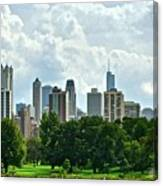 Lincoln Park Pano  Canvas Print