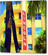 Lincoln Theatre - Sobe Canvas Print