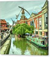 Lincoln Waterside  Canvas Print