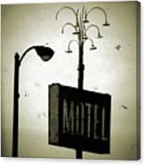 Lincolnwood Motel District Canvas Print