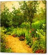 Linden Gardens 2 Canvas Print