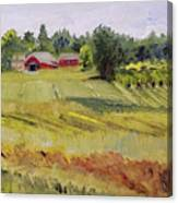 Linden Row Farm Canvas Print