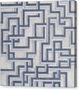 Linear Fermionic Transition Canvas Print