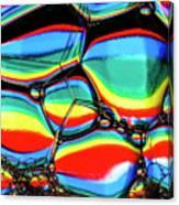 Lined Bubbles Canvas Print