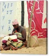 Linen For Sale Madagascar Canvas Print