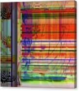 Lines Of Illusion Canvas Print