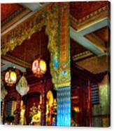 Lingyen Mountain Temple 1 Canvas Print