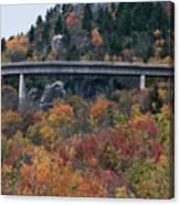 Linn Cove Viaduct Canvas Print