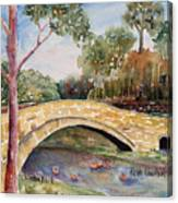 Linton Beck Yorkshire Canvas Print