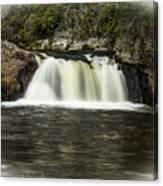 Linville Falls Canvas Print