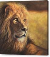 Lion Heart Canvas Print