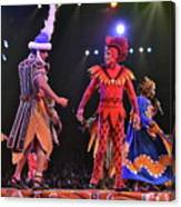 Lion King Performers Canvas Print