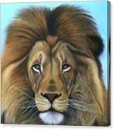 Lion - The Majesty Canvas Print