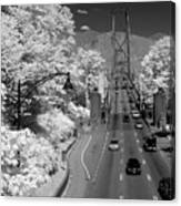 Lions Gate Bridge Summer Canvas Print