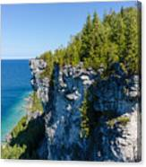 Lions Head Limestone Cliffs Canvas Print